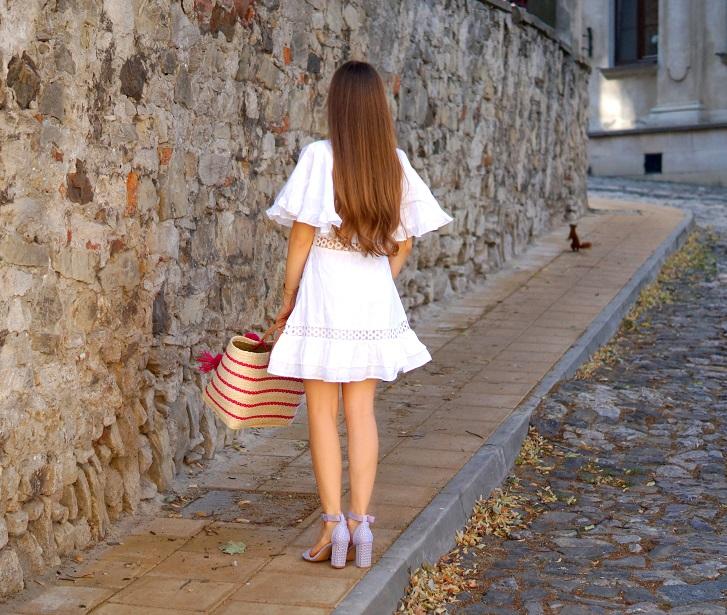 DSC02874m - NA-KD WHITE DRESS