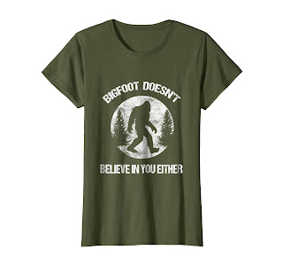 Finding Bigfoot, Sasquatch gifts, Perfect Gift Tee Shirt for outdoor people, forest hiking lovers