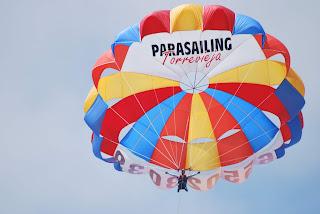 Vuelo en parasailing
