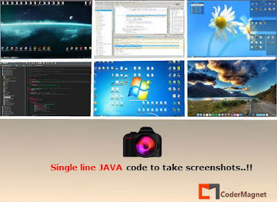 java code to take screenshots