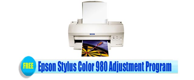 Epson Stylus Color 980 Adjustment Program
