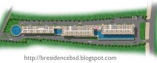 Master Plan & Site Plan B Residence Apartment BSD City
