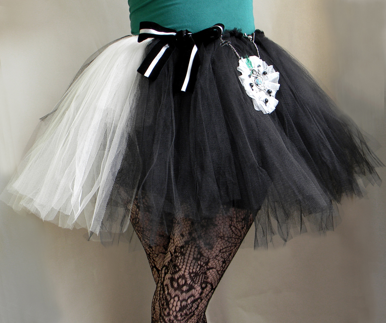 Unique Original Fashion Clothing Skirt Handmade Handcrafted Tutu Ballerina Skirt