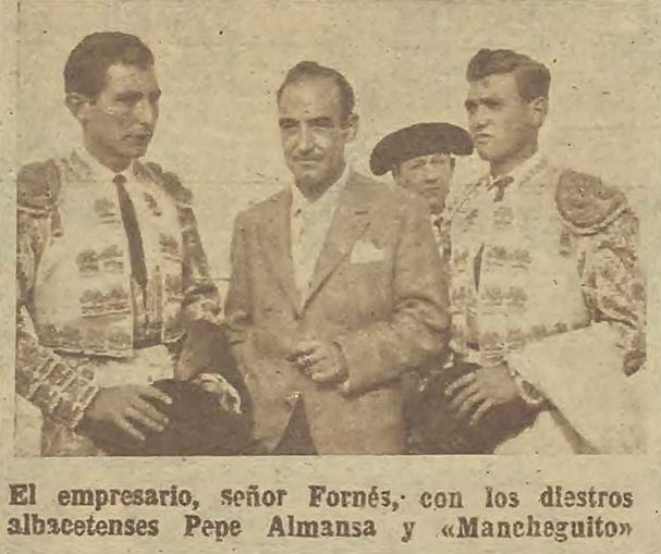 "HA MUERTO ""PEPE ALMANSA"", TORERO DE VILLARROBLEDO"
