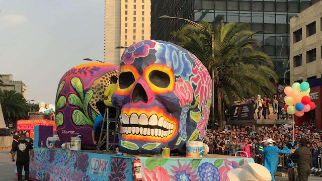 Así se vivirá el desfile del Día de Muertos en la CDMX
