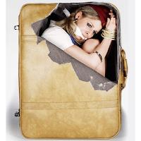 Avec ses stickers pour bagages attention à la douane !