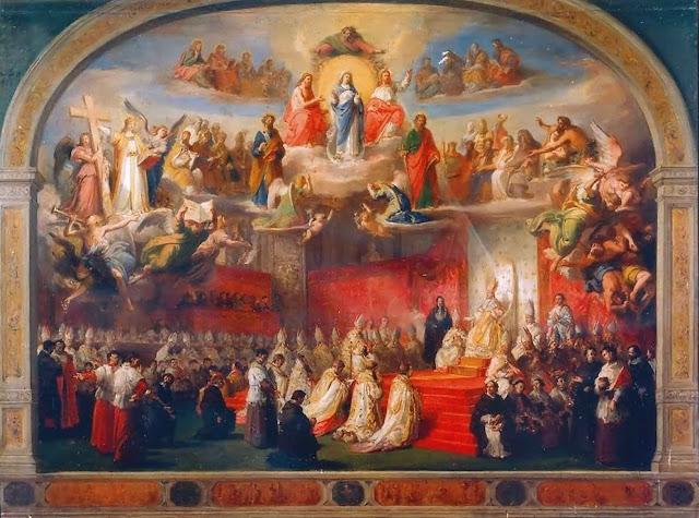 Proclamação do dogma da Imaculada Conceição.