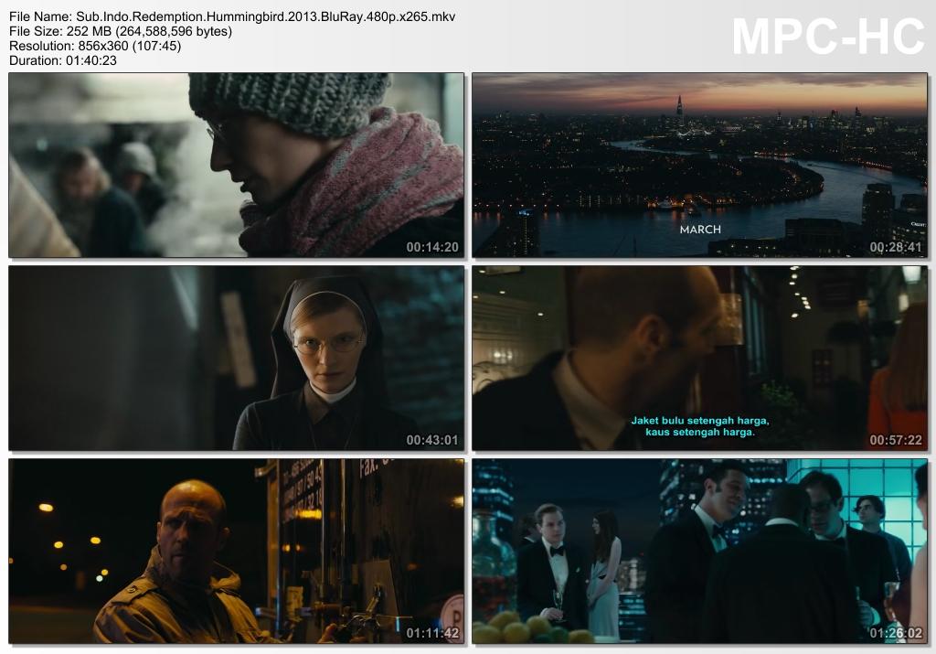 Screenshots Download Film Gratis Redemption (2013) BluRay 480p MP4 Subtitle Indonesia 3GP Nonton Film Gratis Free Full Movie Streaming