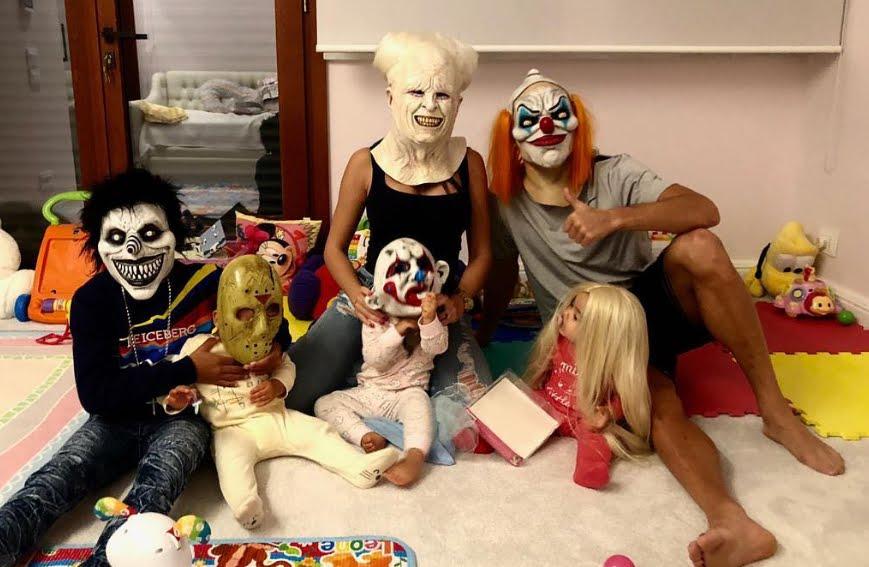Juventus Halloween: Cristiano Ronaldo Horror, Andrea Agnelli papà.