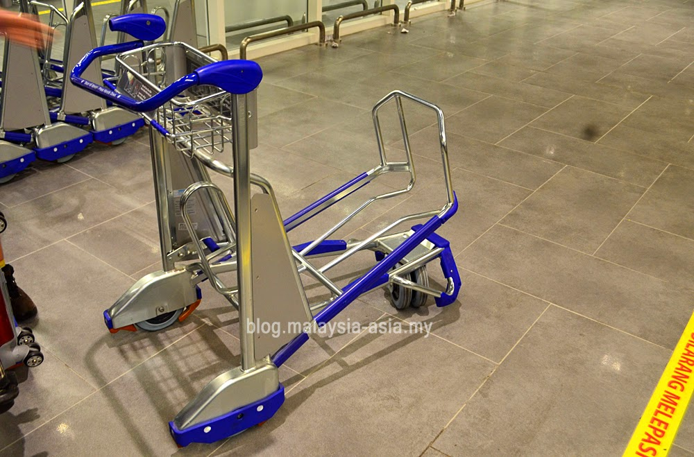 New design trolleys for klia2
