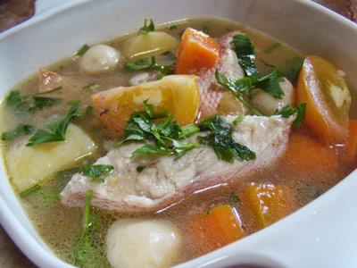 Resepi Sup Ikan Merah Ringkas Dan Sedap