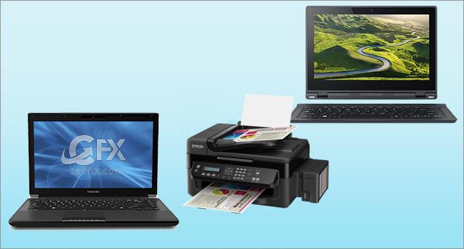 Tek Tık İle Printer'ı Ağda Paylaş-www.ceofix.com