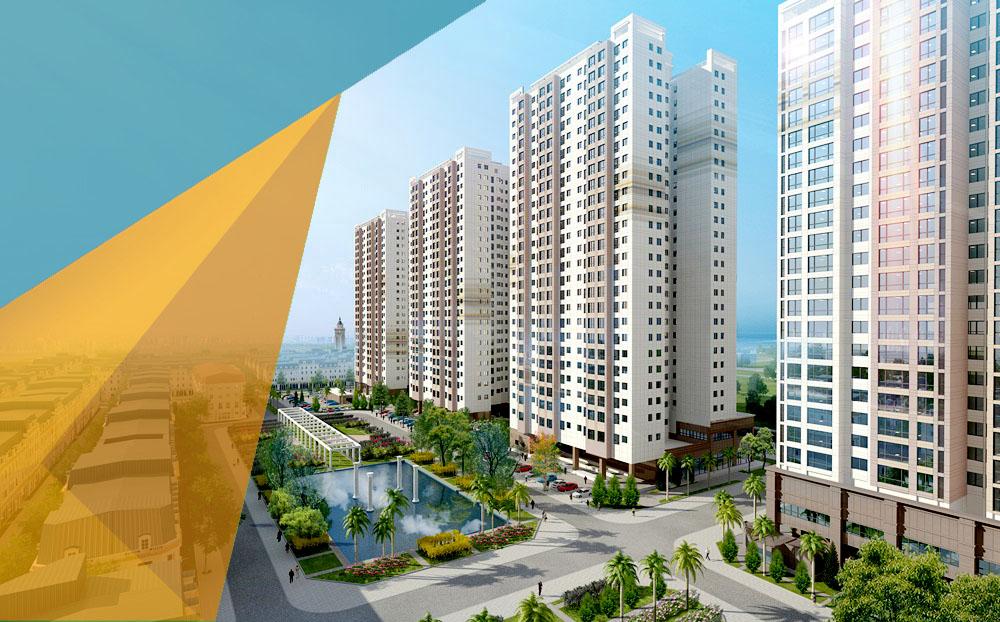 Phối cảnh dự án The K Park Văn Phú Hà Đông