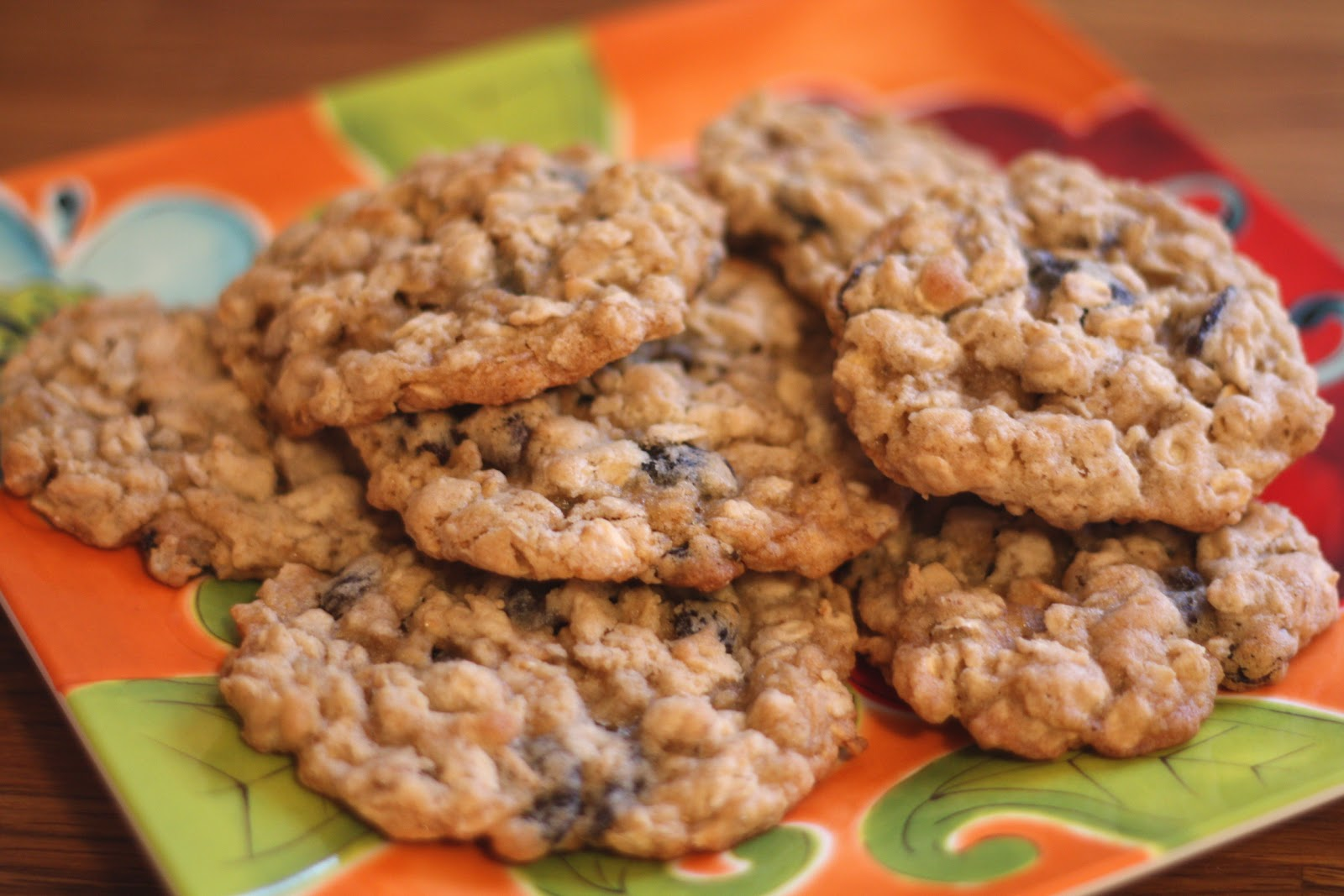 Barefeet In The Kitchen: Soft and Chewy Oatmeal Raisin Cookies