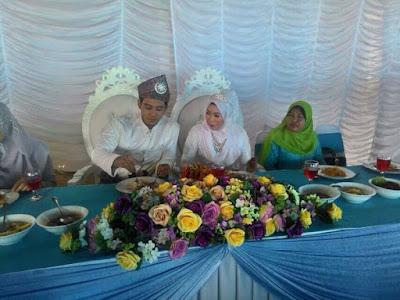 gambar kahwin, hafidz roshdi nikah, gambar nikah hafidz roshdi,isteri hafidz roshdi