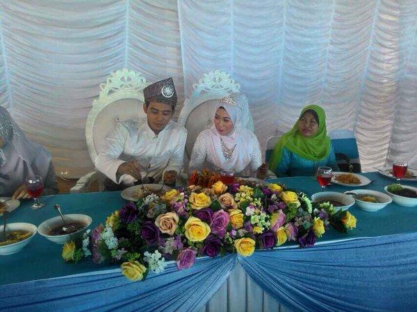 hafidz roshdi nikah, gambar kahwin hafidz roshdi, siapa hafidz roshdi