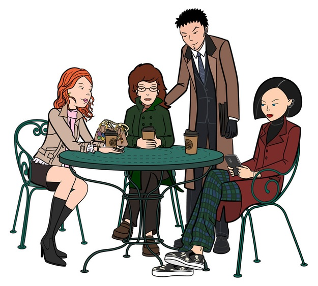 Versiones adultas de personajes de caricaturas y dibujos animados