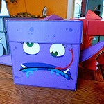 "Monster Boxes! ""Purple Startle"""