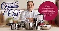 Promoção Cozinha de Chef Tramontina cozinhadecheftramontina.com