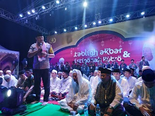 Sejukkan Pemilu Damai 2019, Polres Jakbar Gelar Tabligh Akbar dan Istighosah Kubro