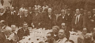 Banquete del homenaje a Juan Capó González, 16 de junio de 1935