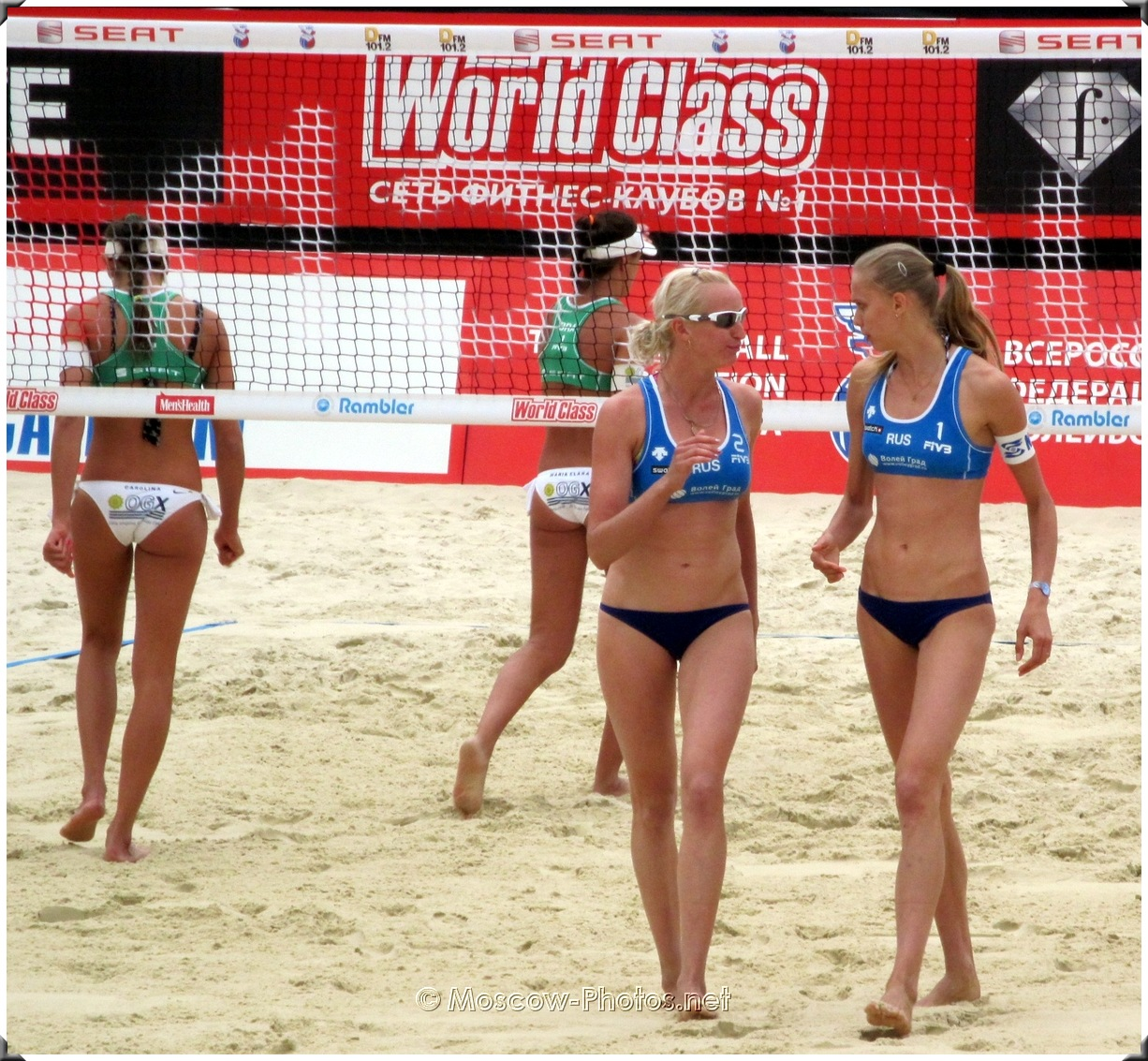 Moscow Grand Slam 2010. SWATCH FIVB Beach Volleyball World Tour.