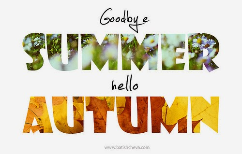 ENGLISH FUN&FAN CLUB: GOODBYE SUMMER. HELLO AUTUMN!
