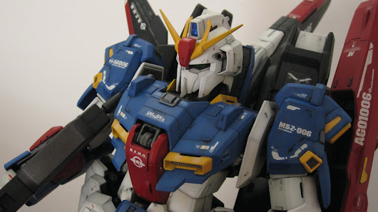 PG ZETA GUNDAM: CUSTOM BUILD