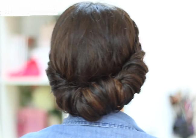 peinados sencillos paso a paso para pelo largo