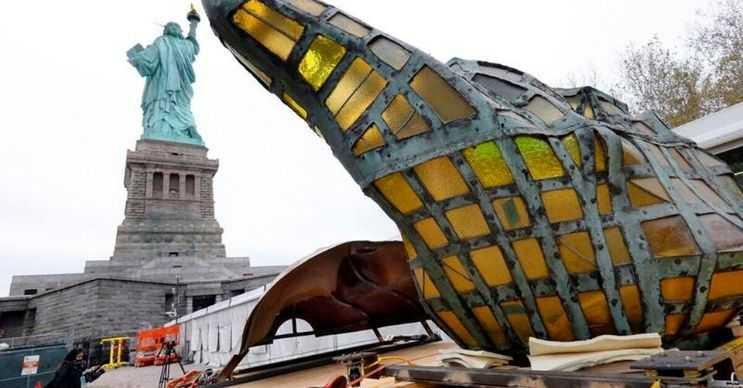 Özgürlük Anıtı Müzesi, heykelin tarihi hakkında bilgi edinmek isteyenler tarafından kullanılıyor.