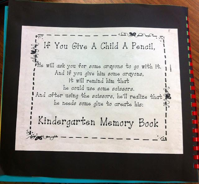 Kindergarten Poetry Book Cover ~ Kfundamentals kindergarten memory books the time is now