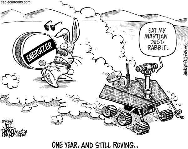 mars rover cartoon - photo #23