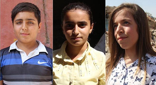Diyarbakır Sur'daki öğrencilerden okul nakline tepki