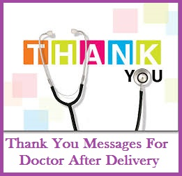 Thank You Letter To Doctor | Thank You Letter To Doctor For Delivering Baby 28 Images 21 Best