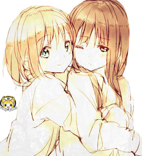 PNG-Mio x Yui // K-ON