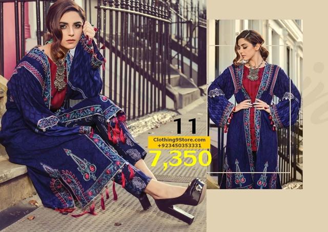 Maria B New Linen & Indian Pashmina