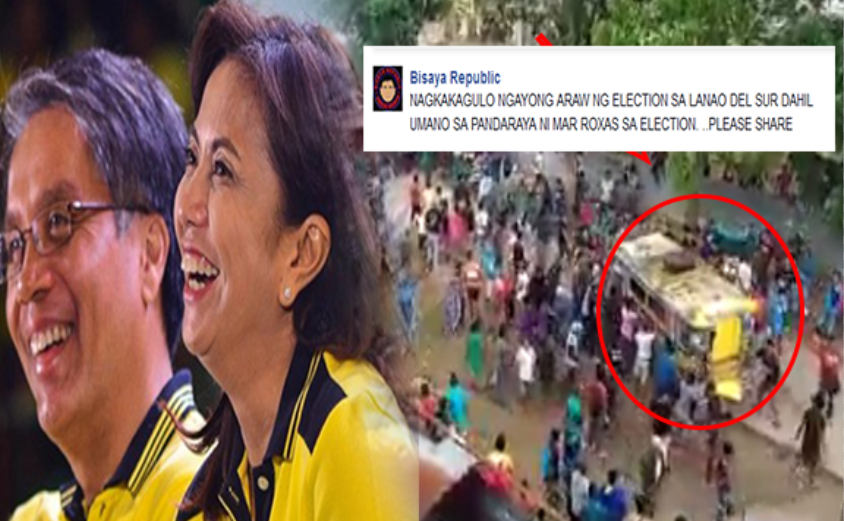 Alleged cheating of Leni Roberedo