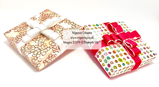 Valentine Gift Box Using Share What You Love & SAB Foil Sheets Stampin' Up! Nigezza Creates
