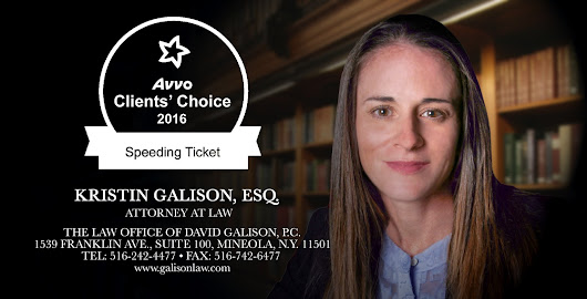 Kristin Galison Receives Esteemed Avvo Clients' Choice Award for 2016