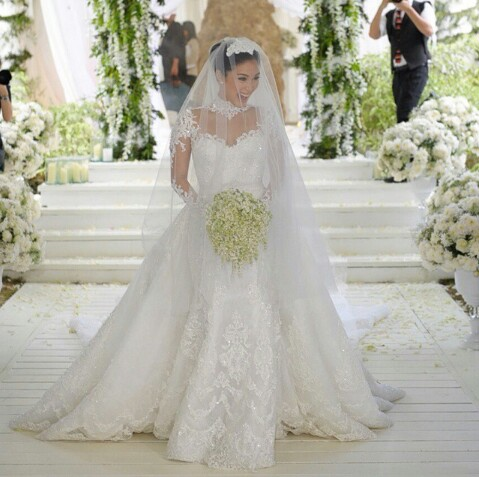 Top 10 Most Stunning Brides With The Most Talked About Wedding Dress