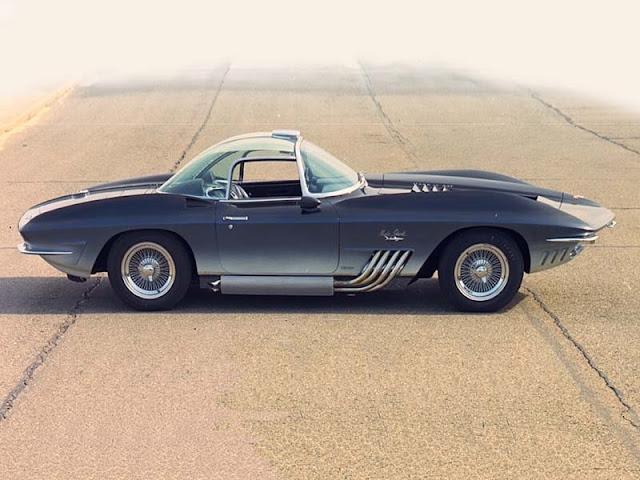 Chevrolet Corvette Mako Shark 1 1960s American concept car