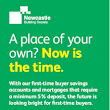 First-Time Buyer Information and Giveaway From Newcastle Building Society