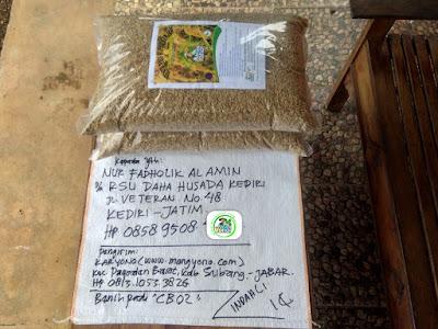 Benih Pesanan   NUR FA Kediri, Jatim.  (Sebelum Packing)