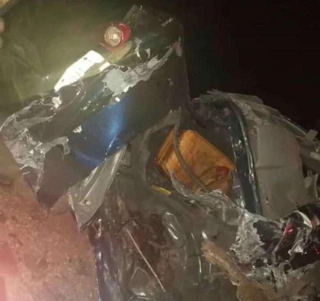 Iworoko accident in Ekiti