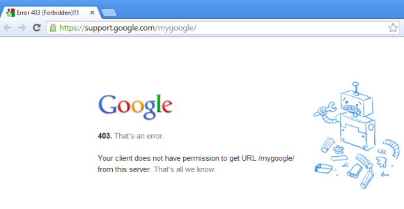 Google All Your: My Google?
