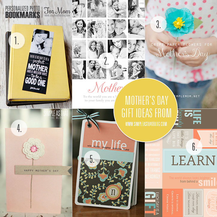 6 Simple Handmade Gift Ideas for Mother's Day