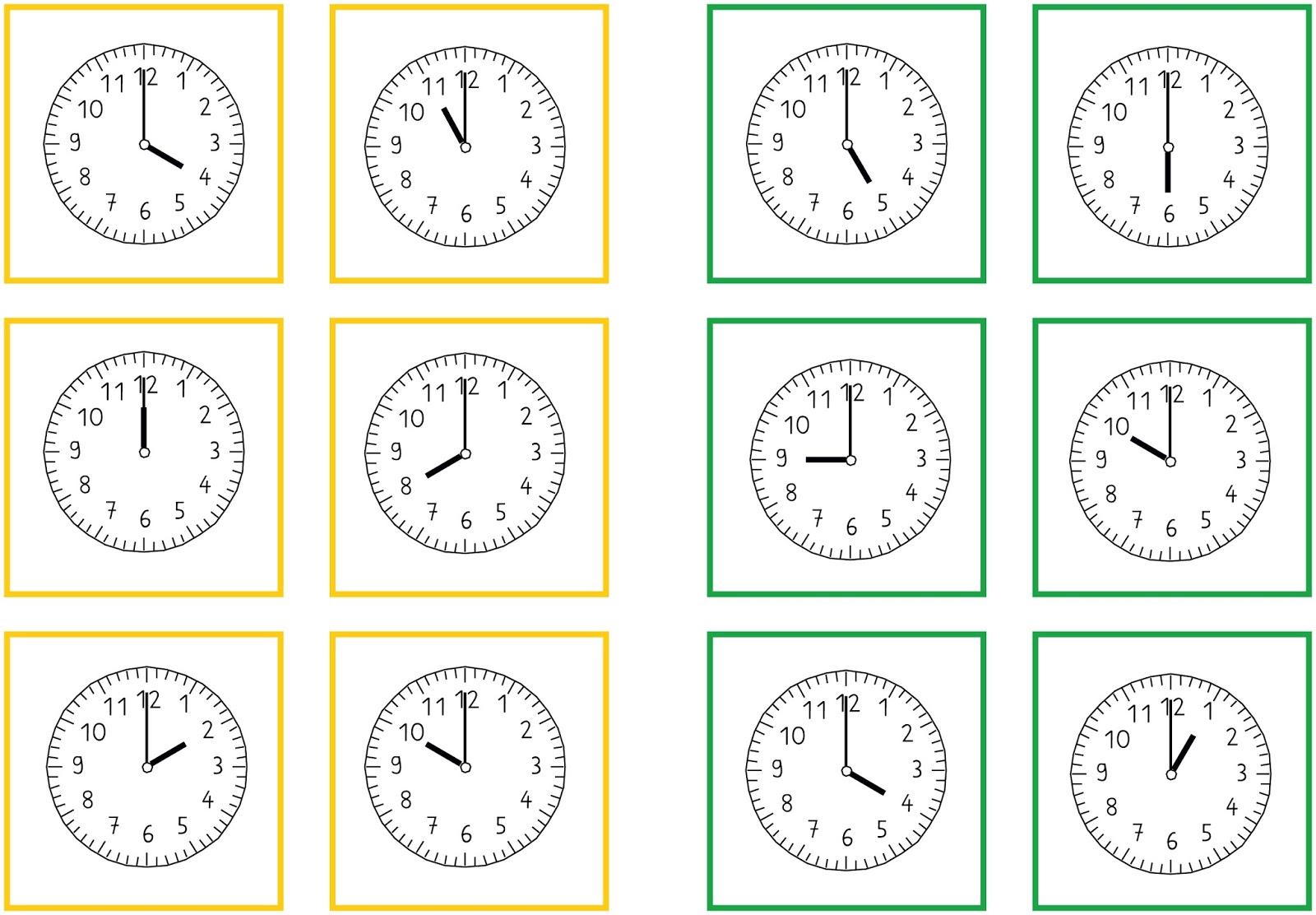 Lernstübchen: Zeitspannen - Legekarten