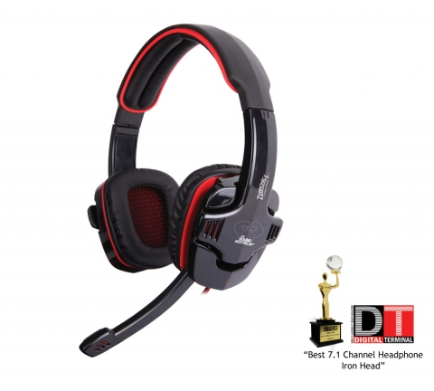Download Driver for zebronics Iron Head 7.1 Simulated 7.1 USB Headset