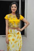 Richa Panai in Yellow Slim Fit Crop top ~ CelebxNext 014.JPG