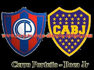 Cerro Porteño vs Boca Jr 2016
